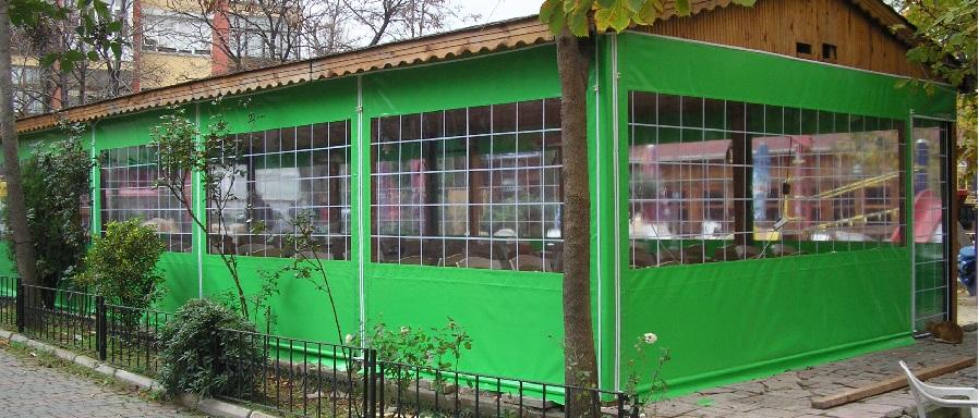 Şeffaf Mika Branda Kış Bahçesi Fiyatları